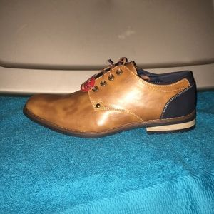 Brown and Blue oxfords NWT